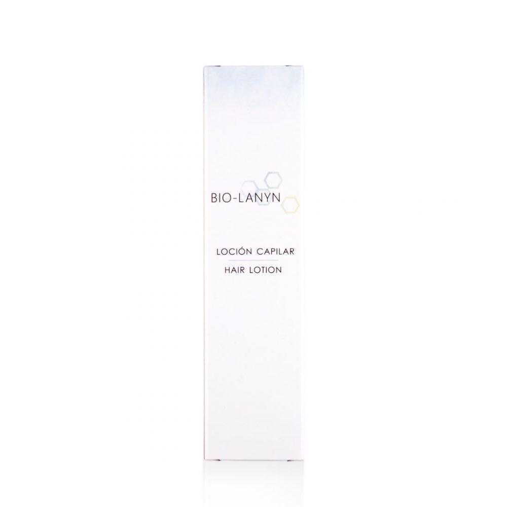 Loción capilar para pieles sensibles - Productos de cosmética natural - Tienda de cosmética natural - Cosmética Natural Lanyn - Envase