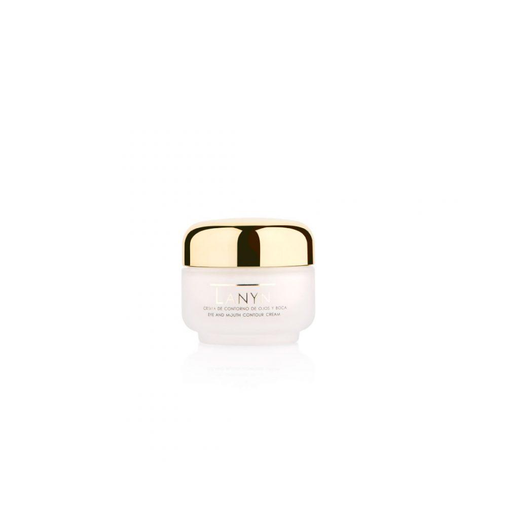 Cremas naturales - Productos de cosmética natural - Tienda de cosmética natural - Crema de contorno de ojos y boca - Cosmética Natural Lanyn
