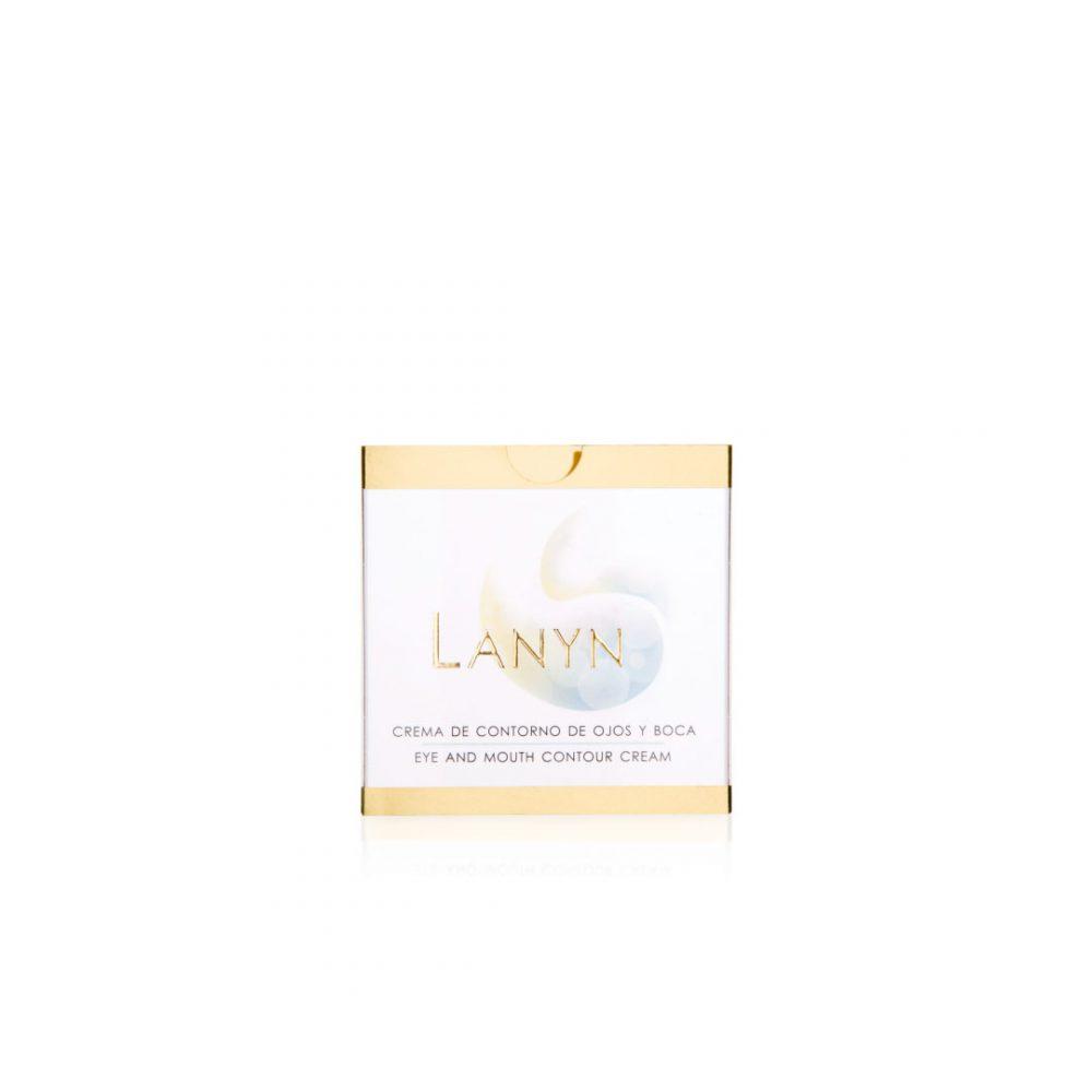Cremas naturales - Productos de cosmética natural - Tienda de cosmética natural - Crema de contorno de ojos y boca - Cosmética Natural Lanyn - Envase