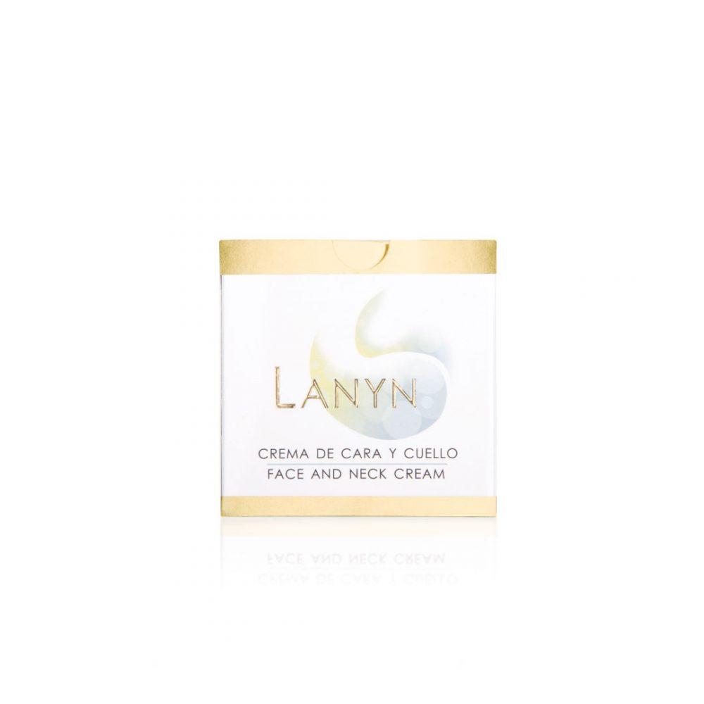 Cremas naturales - Productos de cosmética natural - Tienda de cosmética natural - Crema de cara y cuello - Cosmética Natural Lanyn - Envase